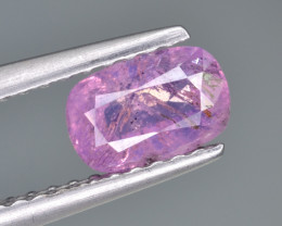 Natural Pink Sapphire 0.79 Cts from Afghanistan