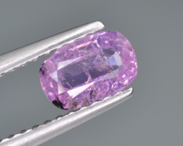 Natural Pink Sapphire 0.82 Cts from Afghanistan