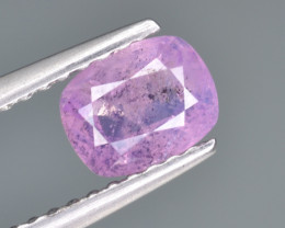 Natural Pink Sapphire 0.87 Cts from Afghanistan
