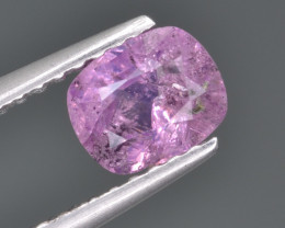 Natural Pink Sapphire 0.88 Cts from Afghanistan