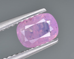 Natural Pink Sapphire 0.96 Cts from Afghanistan