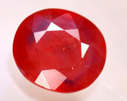 Sapphire 3.27Ct Natural Reddish Orange Sapphire E0902/B38