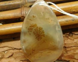 Natural montana agate pendant (G2202)