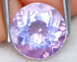 Lavender Amethyst 3.23Ct VS Round Cut Natural Lavender Amethyst C0703