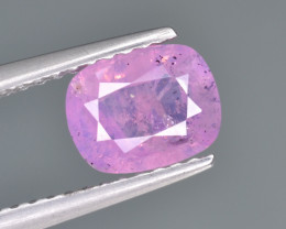 Natural Pink Sapphire 1.20 Cts from Afghanistan
