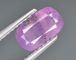 Natural Pink Sapphire 1.43 Cts from Afghanistan