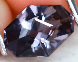 Purple Spinel 1.66Ct VVS Precision Master Cut Natural Purple Spinel AT0939