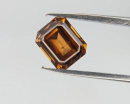 CERTIFIED , 0.66 CTS , Rare Color Diamond , Fancy Shape Diamond