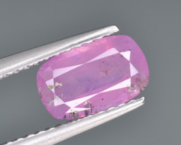 Natural Pink Sapphire 1.70 Cts from Afghanistan