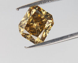 0.51 CTS  ,  Natural Diamond , Radiant Cut Diamond