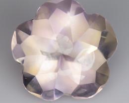 3.45 Cts Bolivian Ametrine Stunning Luster & Cut Gemstone  Am34
