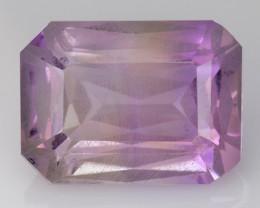 4.06 Cts Bolivian Ametrine Stunning Luster & Cut Gemstone  Am36
