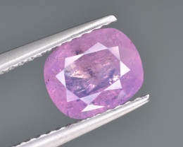 Natural Pink Sapphire 1.86 Cts from Afghanistan