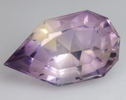 3.69 Cts Bolivian Ametrine Stunning Luster & Cut Gemstone  Am41