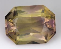 3.49 Cts Bolivian Ametrine Stunning Luster & Cut Gemstone  Am43
