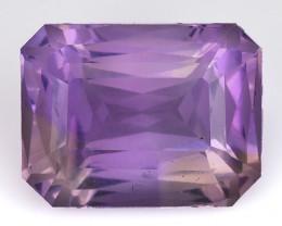 5.37 Cts Bolivian Ametrine Stunning Luster & Cut Gemstone  Am45