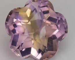 5.74 Cts Bolivian Ametrine Stunning Luster & Cut Gemstone  Am46