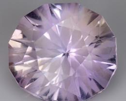 4.09 Cts Bolivian Ametrine Stunning Luster & Cut Gemstone  Am48