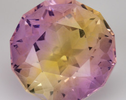5.30 CT BOLIVIAN AMETRINE TOP CLASS LUSTER GEMSTONE AM33