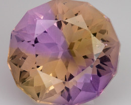 5.46 CT BOLIVIAN AMETRINE TOP CLASS LUSTER GEMSTONE AM36