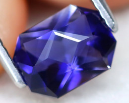 Iolite 0.91Ct VVS Master Cut Natural Purplish Blue Color Iolite AT0965