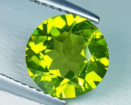 2.76 ct  AAA  Quality Gem  Round Cut Top Luster Natural Peridot