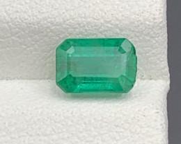 1.08 Natural color Emerald gemstone
