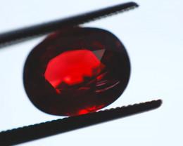 FREE SHIP! 3.7 CT Dark Red Garnet (Tanzania)