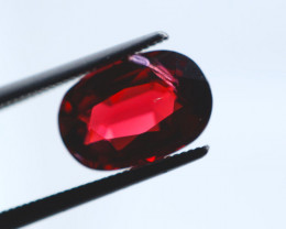 FREE SHIP! 3.4 CT Dark Red Garnet (Tanzania)
