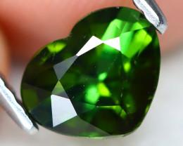 Green Tourmaline 1.19Ct VS Heart Cut Natural Green Tourmaline A2113