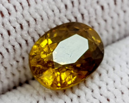 2.35CT RARE YELLOW TOURMALINE BEST QUALITY GEMSTONE IIGC018