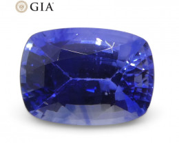 1.15ct Cushion Blue Sapphire GIA Certified Sri Lanka