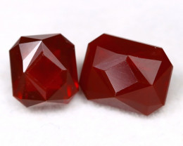 Mexican Cherry Red 1.56Ct Master Cut Natural Cherry Red Fire Opal C0817