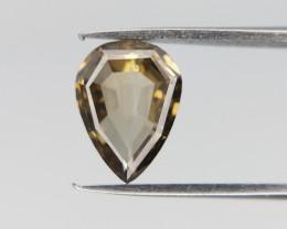 0.73 cts , Rare Fancy VS Diamond , Pear Brilliant Cut