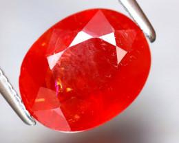 Sapphire 3.22Ct Natural Reddish Orange Sapphire DF1025/B38