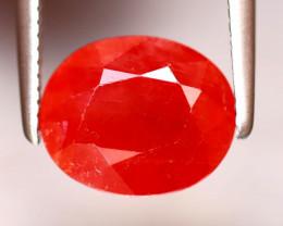 Sapphire 2.93Ct Natural Reddish Orange Sapphire DF1026/B38