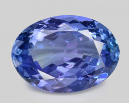 2.56 Cts Amazing rare Violet Blue Color Natural Tanzanite Gemstone
