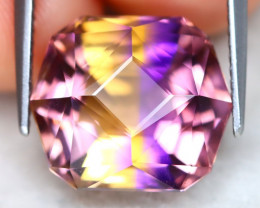 Ametrine 10.17Ct VVS Master Cut Natural Bolivian BiColor Ametrine AT1031
