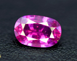 Sapphire,  1.40 CT Top Quality Oval Cut Pink Sapphire Gemstone