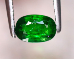 Tsavorite 0.77Ct Natural Intense Vivid Green Color Tsavorite Garnet EF1128