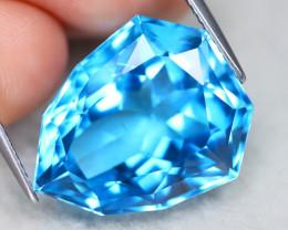 Swiss Blue Topaz 24.39Ct VS Fancy Cut Natural Swiss Blue Topaz A2104