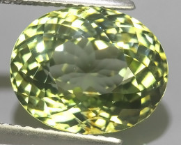 6.80 CTS GORGEOUS RARE NATURAL NICE GREEN TOURMALINE~EXCELLENT!