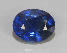 2.15 CTS EXCLUSIVE NATURAL BLUE SAPPHIRE OVAL HEATED MADAGASCAR!!