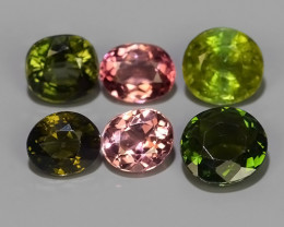 3.35 CTS AWESOME NATURAL MIXED FANCY TOURMALINE GEM!!