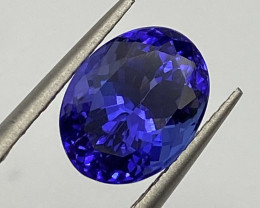 3.77 ct AAAA plus loupe clean with fine cutting Tanzanite Gemstone
