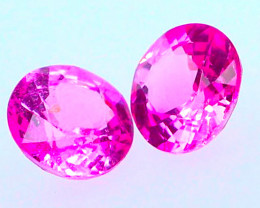 Round 2 PC Pink 0.56 CT Sapphire FREE SHIP!