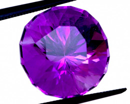 PERFECT RUSSIAN! 12.16 CT Unheated Vivid Purple Amethyst