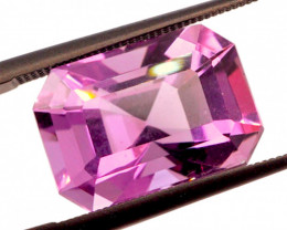 8.73 CT FREE SHIPPING! Custom Fancy Cut Purple Amethyst (Uruguay)