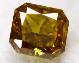 Greenish Orange Diamond 0.10Ct Natural Unheated Fancy Diamond C0913