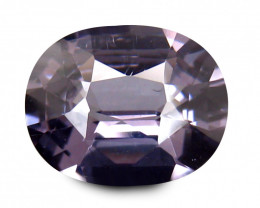 Cylon SPINEL 1.462 Cts charcoal Grey Antique Step Cut BGC454